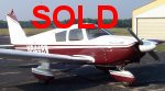 SOLD - Piper Cherokee 180